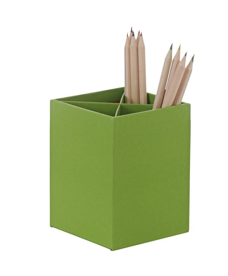 Pen cup green