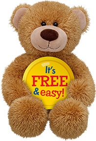 Stuff fur Stuff - Build-A-Bear Workshop Earn 100 Bear Bills®† for every $1 you spend to use on cool virtual stuff on Bearville.com™ FREE ribbons, bows and fluffs every time you bring your furry friend to visit Exclusive birthday savings Special discount coupons White Oaks Mall, Springfield, IL