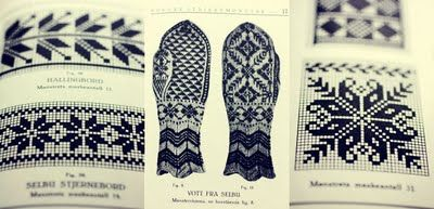 A little blog about knitting - traditional norwegian fairisle