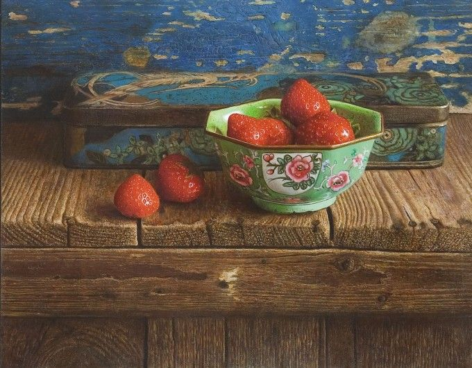 In the summer shed. Herman Tulp