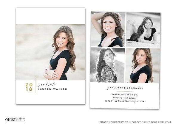 Graduation Card Psd Class Of 2018 Selling Prints Psd Photoshop Elements