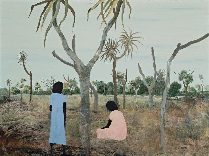 Ray Crooke Women with Pandanus