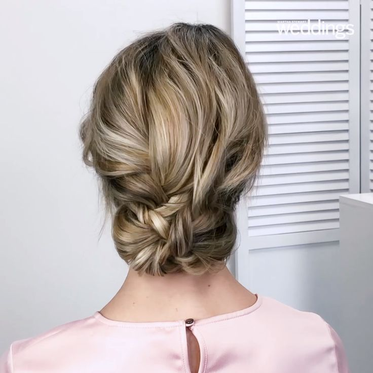 Wedding ceremony Coiffure: Three Braids