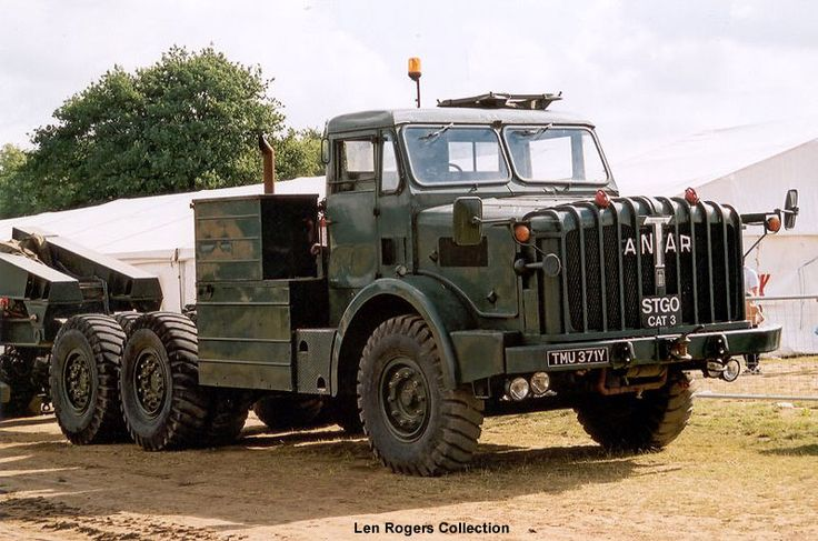 THORNYCROFT MIGHTY ANTAR - British Army [a beast], anyone serving in Germany in the 1960s will remember MOJO's driving these