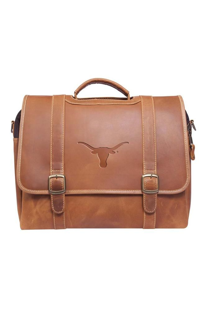 Professional and elegant with Texas flair, the Longhorn Old Fort Canyon briefcase will impress your colleagues. Includes a sleeve for your laptop, buy now!