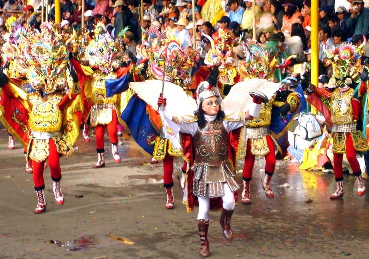 El desfile de las diabladas: The Parade, Festivals, Of The, Las Diabladas, Bolivia, Parade