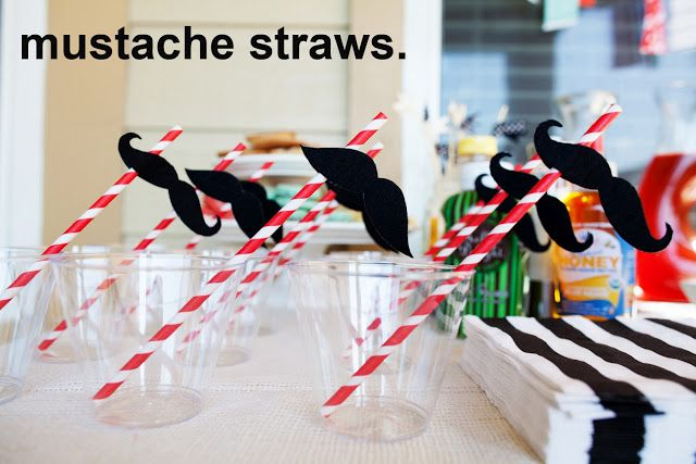 contradiction of sorts: [diy] mustache straws.
