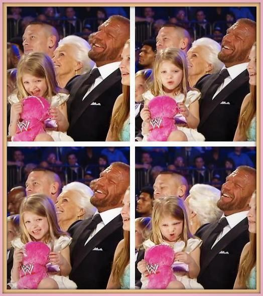 Triple H Daughter | Triple H (HHH) & Stephanie McMahon daughter Murphy Claire. (Photo)