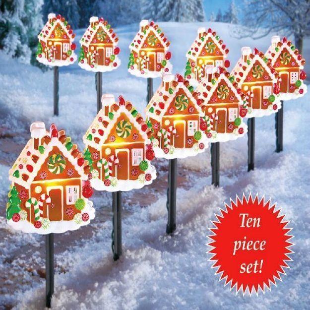 Best 20+ Christmas Pathway Lights Ideas On Pinterest