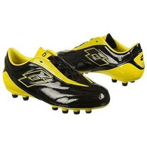 SALE - Lotto EC1280553 Soccer Cleats Kids Black - BUY Now ONLY $45.00