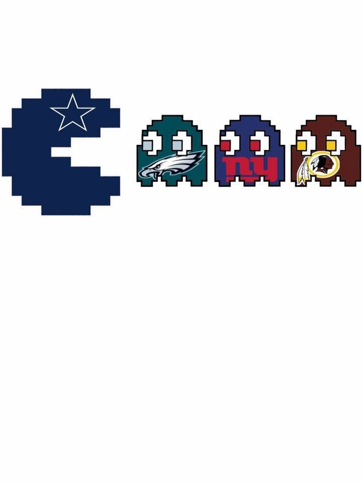 We will chomp the NFC East , Go Cowboys