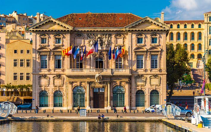 Download wallpapers Marseille, 4k, summer, street, Bouches du Rhone, France, Europe