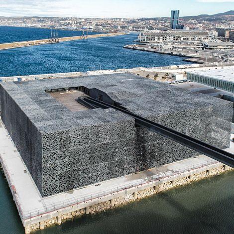 #MuCEM, #Marseille #Architecture