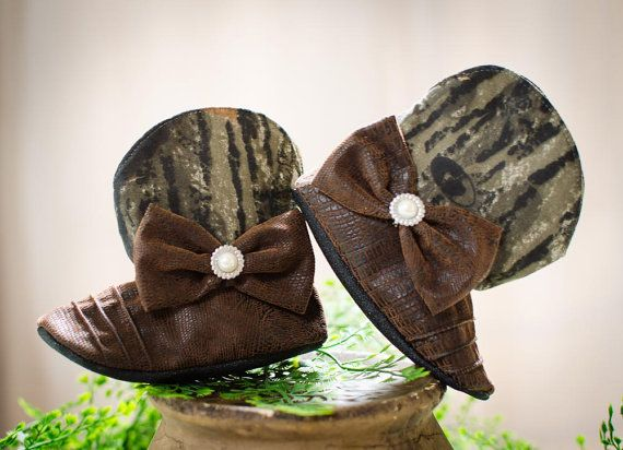 Cowgirl Boots, Baby Camo Cowgirl Boots on Etsy, $46.00