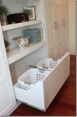 Alternative to built-in drawers