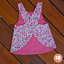 Resultado de imagen para camisa cruzada para bebes