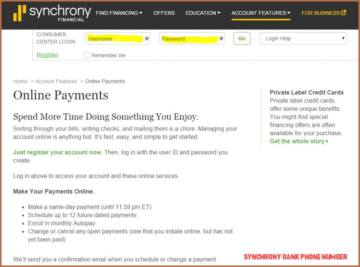 9 questions to ask at synchrony bank phone number