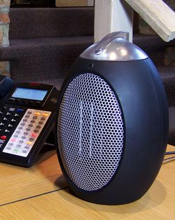 Eco Save Compact Space Heater Decorative And Battery