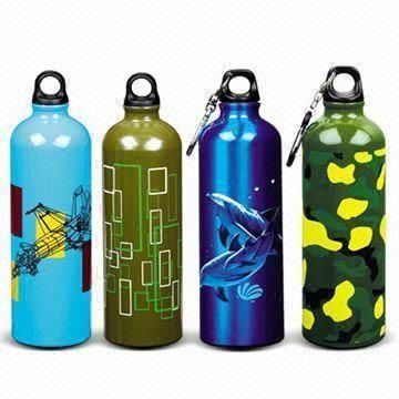 www.lltbottles.com stainless steel drink bottles  food grade water bottle  single wall with carabiner cap 750ml with full color printing bpa free color customized