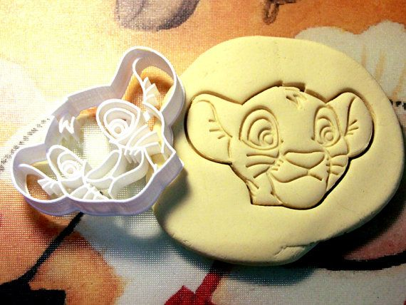 Simba Lion King Cookie Cutter  $8.99  https://www.etsy.com/shop/StarCookies/search?search_query=lion+king   Measurements  3.5 x 2.5 Approx.