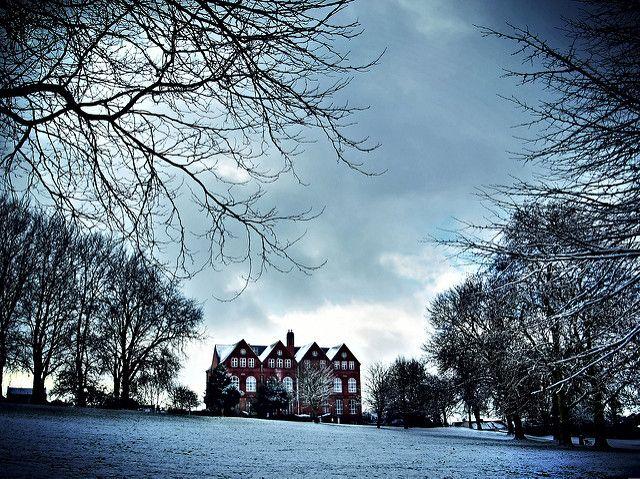 The Old Grammar School in the Snow - St Georges Park Bristol | by Benn Gunn Baker