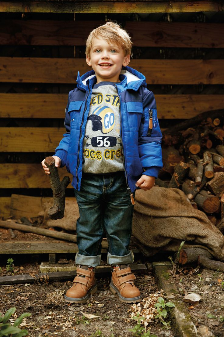 These boots will keep little feet warm and dry.