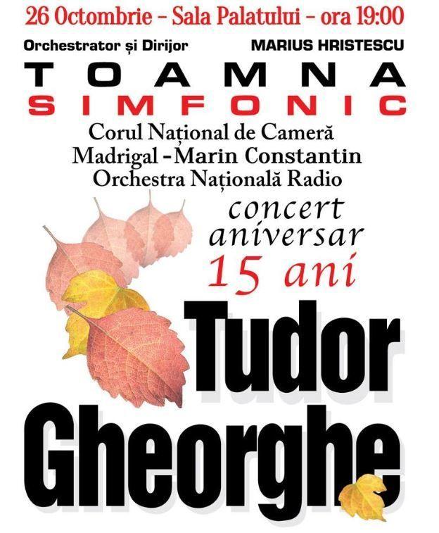 Toamna Simfonic Aniversar - 26 Oct 2016