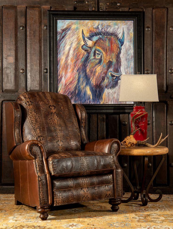 Cowboy Desota Recliner | AdobeInteriors.com