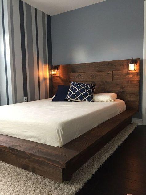Die besten 25+ Metallbettrahmen Ideen auf Pinterest Eisenbetten - einrichtungsideen schlafzimmer betten roche bobois