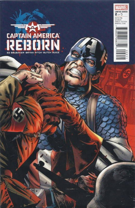 "MARVEL COMICS ""CAPTAN AMERICA"" ""REBORN""  6 PART  NEVER READ 2009 READY 4 GRADING"