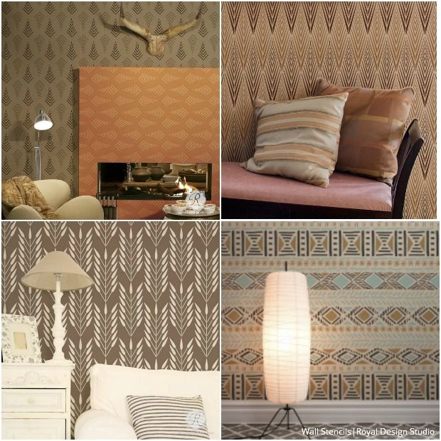 Design Studio Ideas 418 best stenciled & painted walls images on pinterest | wall
