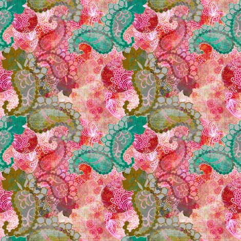 Paisley Flair fabric by art_is_us on Spoonflower - custom fabric
