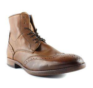 Dune Cobbler Cognac Boots Mens size 10 M New $199   eBay