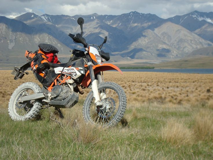 KTM 690 Enduro R - I'm going to get one of these someday and ride it around the world.