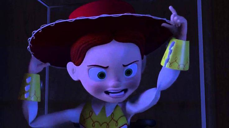 Toy story 2 Woody vs Jessie