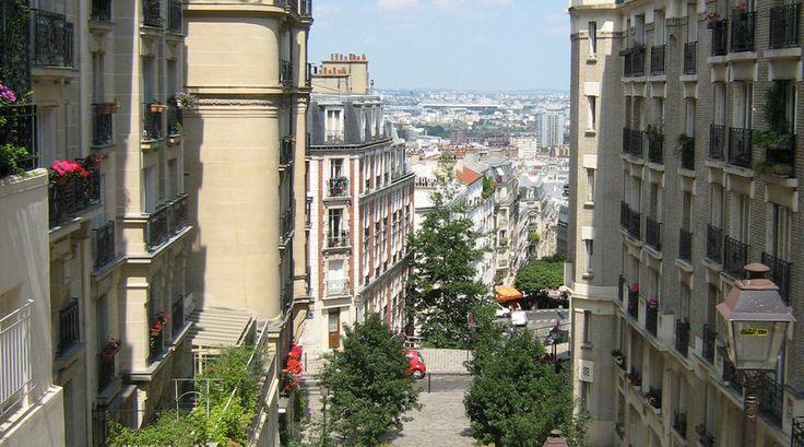 Een van de mooiste straten in Parijs!
