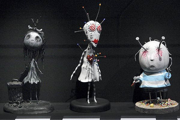 A day in the Life of a Torontonian: Tim Burton Exhibit at Bell Lightbox