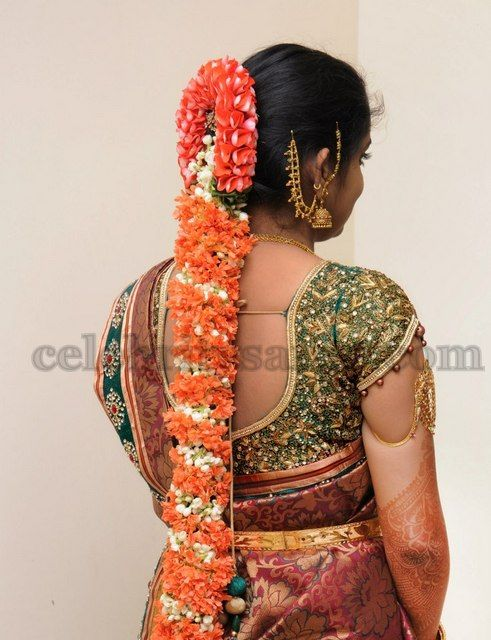www.sameepam.com   Crystal Embroidered Bridal Blouse | Saree Blouse Patterns