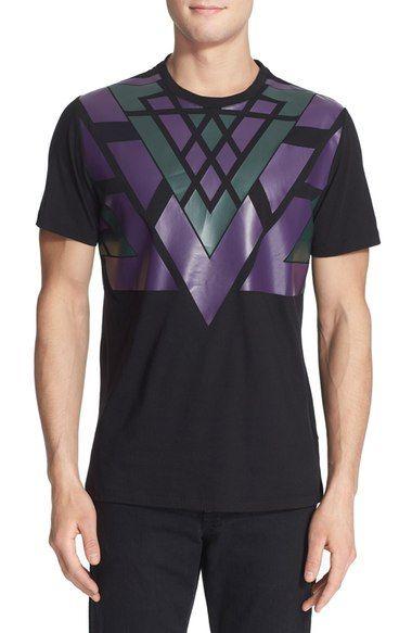 Versace Geometric Screenprint T-Shirt available at #Nordstrom