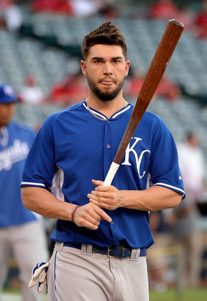 Eric Hosmer Photos - Kansas City Royals v Los Angeles Angels of Anaheim - Zimbio