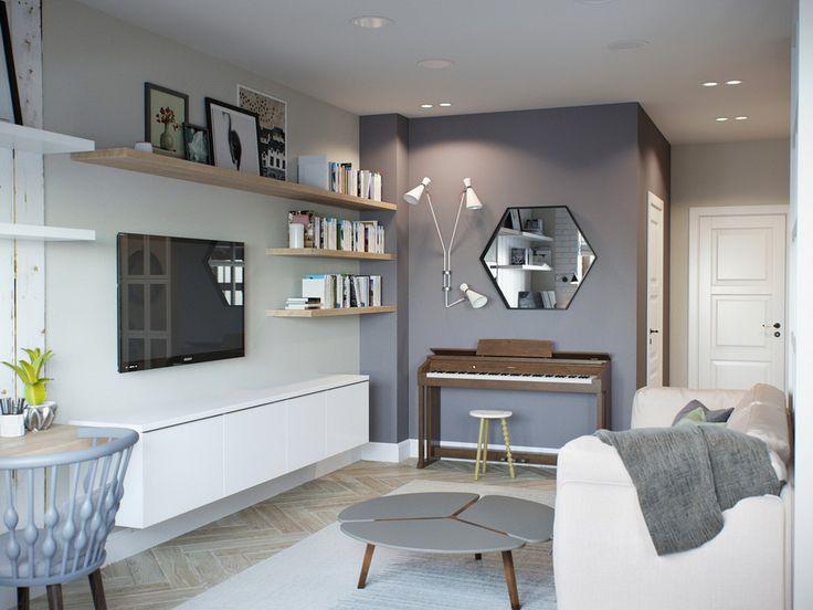 Les touches de bois dans un intérieur apportent de fait un aspect chaleureux et authentique dans un projet.Qu'il soit vernis ou brut, ce matériaux naturel est une valeur sûre dans une décoration surtout à l'heure de la mode scandinave.Pour ma part, j'aime le bois clair pour son côté lumineux.J'ai d'ailleurs sélectionné le projet d'aujourd'hui car on le retrouve comme un fil conducteur dans l'intégralité de l'appartement.En effet, dans ce logement de 68m2 le bois est disséminé sous…