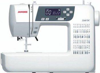 Macchina per cucire Janome 2160DC - Macchina per cucire computerizzata a braccio libero.