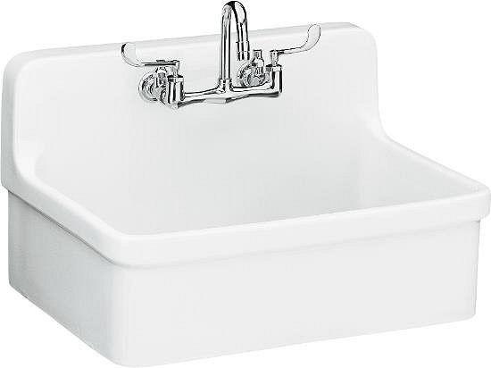 kohler sink - laundry rm