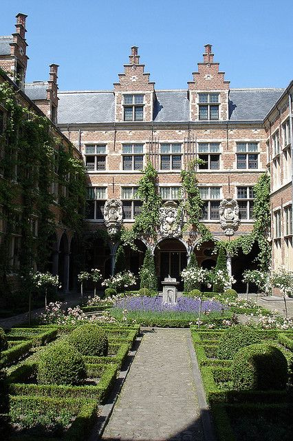 UNESCO World Heritage Site.                            Museum Plantin-Moretus, Antwerp, BELGIUM
