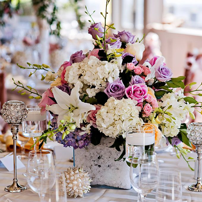 95 best WEDDING Centerpieces images on Pinterest Flowers