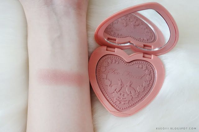 Too Faced Love Flush Blush in Baby Love Swatch