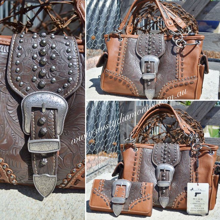 Montana West Rancho Handbag & matching Wallet Www.dustydiamonds.com.au