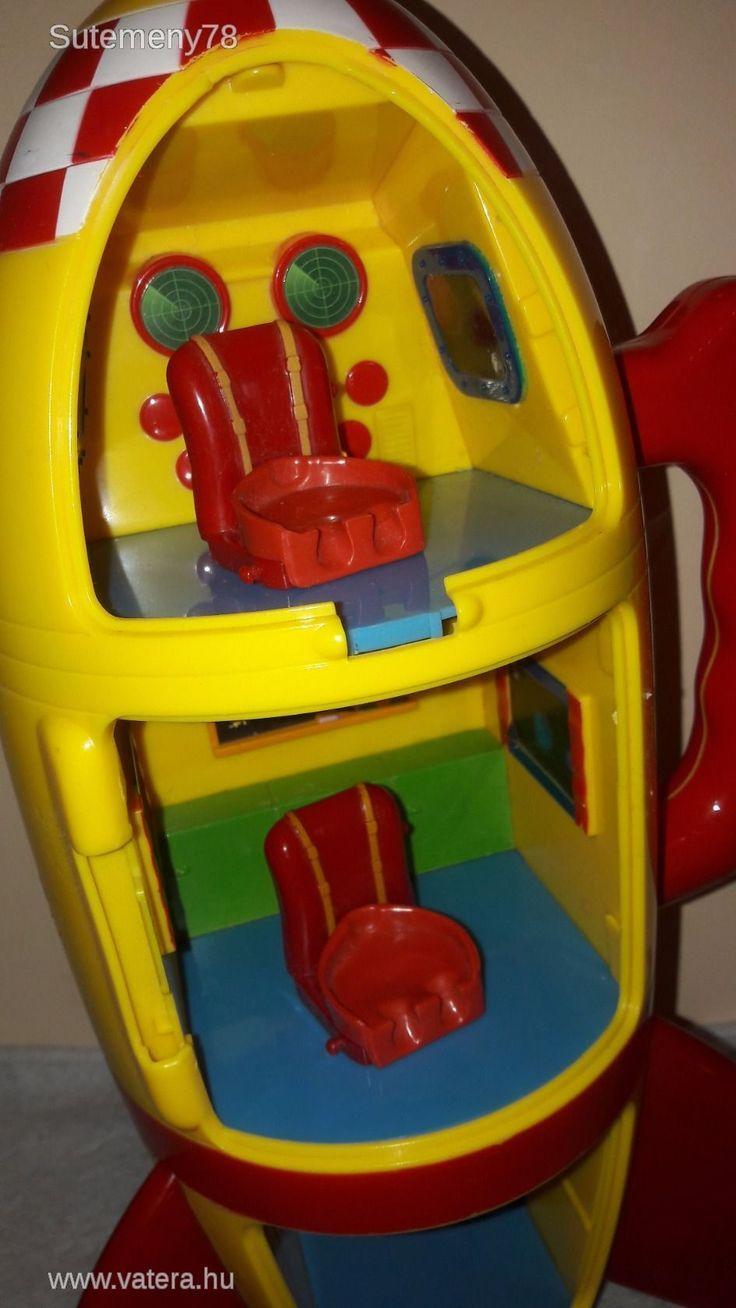 BS Játék - Peppa Pig Interaktív Űrhajó - felszállást imitál és Peppáék beszélnek :D - 700 Ft - Nézd meg Te is Vaterán - Egyéb - http://www.vatera.hu/item/view/?cod=2554909517
