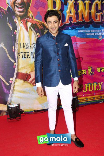 Amit Sadh at the Premiere of Hindi movie 'Guddu Rangeela' in Mumbai