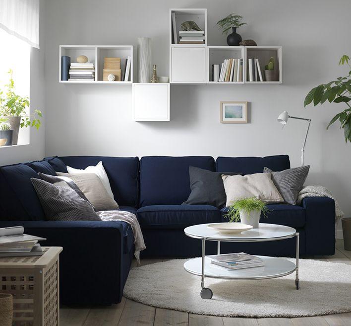 Bildresultat för grått vardagsrum.svart soffa